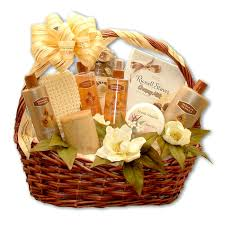 bath gift baskets luxury aromatherapy bath gift basket