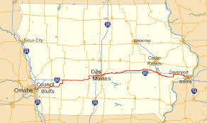 Quad Cities Map U S Route 6 In Iowa Wikipedia