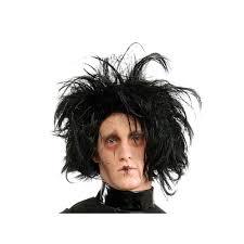 Edward Scissorhands Costume Edward Scissorhands Costume Wig Unisex Black