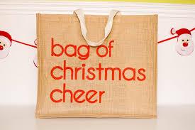 christmas shopping bags large jute christmas shopping bag bag gift bag christmas