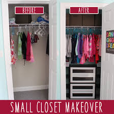 small closet kid s room small closet makeover on a budget money saving sisters