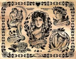 38 best 1930 vintage tattoo flash pages images on pinterest