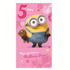 minion birthday card collection ebay