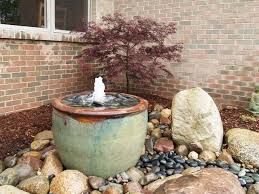 Water Fountains For Backyards by Best 25 Stone Fountains Ideas On Pinterest Patio Fountain