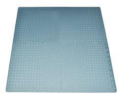 Grey Border Tiles Amazon Com 16 Square Ft Grey Exercise Mat Anti Fatigue