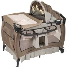 How To Keep Cats Out Of Baby Crib by Baby Trend Nursery Center Playard Deluxe Havenwood Walmart Com