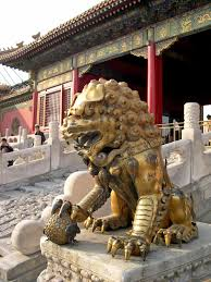 Forbidden City Floor Plan chinese lion guards the palace of tranquil longevity in the