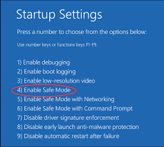 how to take safe mode android how to start safe mode in windows 10 easily driver easy