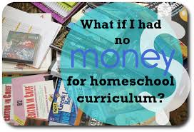 free homeschool curriculum resources archives money what if i had no money for curriculum