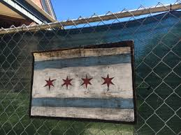 Blue Flag With White Star In The Middle The Story Of Chicago U0027s Four Star City Flag U2013 Robert Loerzel U2013 Medium