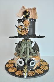 steampunk cake cthulhu steampunk hat gears clock bioshock
