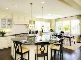 large kitchen island breakfast bar home design