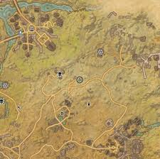 Bal Foyen Treasure Map Cyrodiil Map Eso Treasure Locations Image Mag