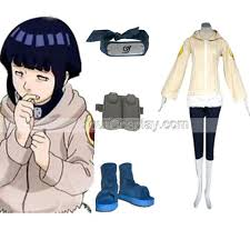 Hinata Halloween Costume Naruto Hinata Hyuga Deluxe Womens Cosplay Costume Accessori