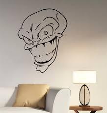 wall decals stickers home decor home furniture diy the mask movie wall sticker vinyl decal comics superhero art bedroom decor tmk3