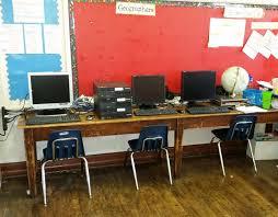 Classroom Computer Desk by Classroom Computers For James Logan Philadelphia Children U0027s