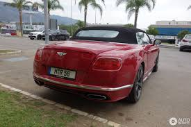 bentley red 2016 bentley continental gtc speed 2016 8 november 2017 autogespot
