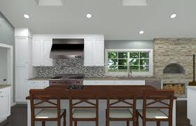 Kitchen Cad Design by Open And Vaulted Kitchen In Colts Neck Nj Design Build Pros