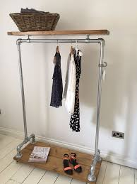 coat rack industrial shelf vintage free standing with contemporary