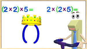 multiplication associative property 3rd grade math videos for