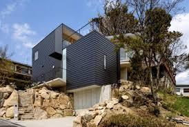 modern hillside house plans house plans for sloping lots luxury sloping lot house plans