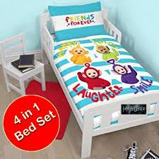 Grobag Duvet Teletubbies 4 In 1 Junior Cot Bed Duvet Bedding Bundle Set