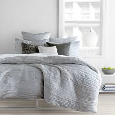 dkny city pleat grey duvet cover full queen bloomingdale u0027s