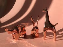 art glass giraffe ring holder images 4 umbra ring cooper holders for charming your home decor jpg
