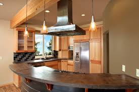 Hickory Kitchen Island Kitchen Design Curved Kitchen Island Kitchen Cabinets