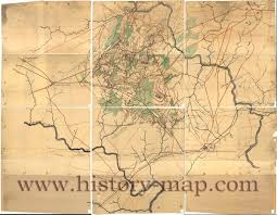 Winchester Virginia Map by Of The Manassas Battlefield