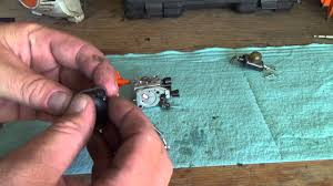 stihl fs90r trimmer carburetor rebuild youtube
