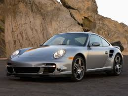 porsche 911 turbo silver 2007 porsche 911 turbo silver front and driver side rock