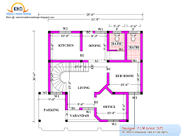 Home Design 50 Sq Ft by 2080 Square Feet Home Plan And Elevation Kerala Home Design And