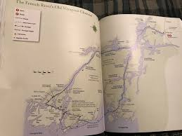 Kayak Map The French River U2013 4 Day Solo Kayak Trip U2013 Worst Site Best Site