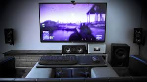 livingroom set up why you should set up a gaming pc in your living room