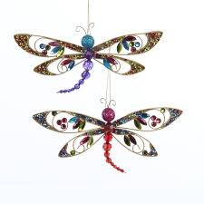 6 sequin butterfly dragonfly w clip item td1397 bohemian
