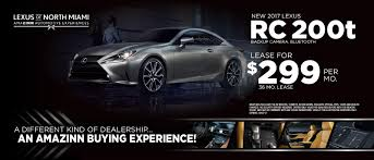 lexus rc 200t f sport lease lexus of north miami luxury new and used car dealer near fort