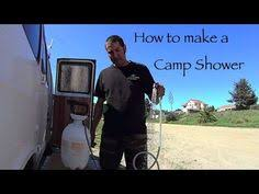 How To Make An Outdoor Bathroom How To Make An Outdoor Portable Camp Shower Diy Living In A Van