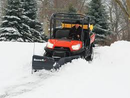 8 things to consider when choosing a snowplow for your utv