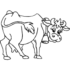 vector of a cartoon tired cow clipart panda free clipart images