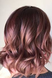 rose gold lowlights on dark hair 15 gorgeous hair colors that will be huge in 2018 gorgeous hair
