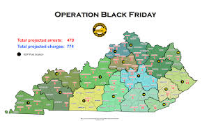 ksp map statewide map black friday arrests county by county on