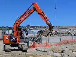 file hitachi zaxis 135us excavator at forsyth barr stadium