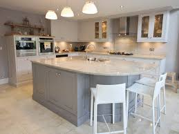 Built In Kitchen Islands High Gloss Grey Kitchen Chartreuse Units With Built In Microwaves
