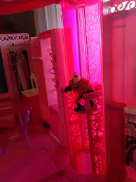 good barbie dream house bedroom on pink wardro 10099