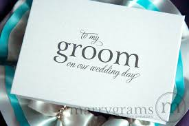 to my on our wedding day card husband on our wedding day card to my or groom mix style