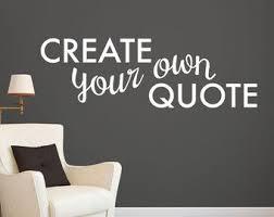Best  Wall Art Decal Ideas On Pinterest Custom Vinyl Wall - Design your own wall art stickers