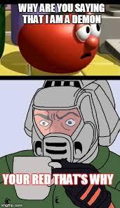 Doom Guy Meme - way tomato and detective doom guy imgflip