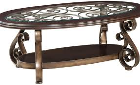Round Glass And Metal Coffee Table Coffee Tables Iron Glass Coffee Table Winsome Antique Iron And