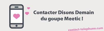 meetic adresse siege social contacter disons demain de meetic par mail ou partéléphone